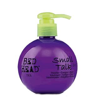 TIGI BED HEAD SMALL TALK CREMA 200ml aporta cuerpo,volumen y vigor