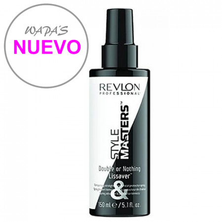 STYLE MASTERS DOUBLE OR NOTHING LISSAVER 150ml / spray / alisador temporal + protector térmico