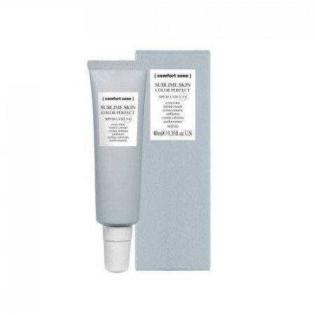 COMFORT ZONE SUBLIME SKIN COLOR PERFECT SPF 40 ml Crema de color SPF 50