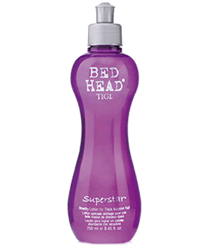 TIGI BED HEAD SUPERSTAR LOCION 250ml termoactiva volumen cuerpo & grosor