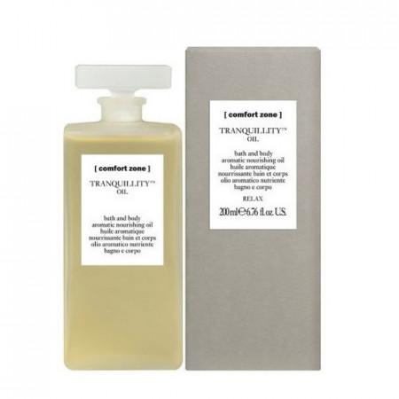 COMFORT ZONE TRANQUILLITY OIL 200 ml Aceite aromático baño y cuerpo
