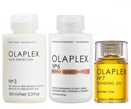 OLAPLEX KIT TRIO Nº 3, Nº 6 y  Nº 7 - 230 ml