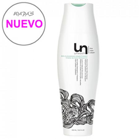 UNWASH BIO-LIMPIADOR ACONDICIONADOR - 400ml / sustituye al champú habitual / protege el color / hidrata sin dañar el cabello