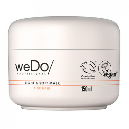 WEDO LIGHT & SOFT MASCARILLA 150 ml - Cabello fino