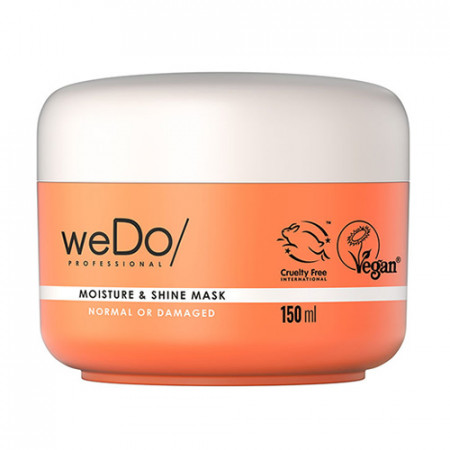 WEDO MOISTURE & SHINE MASCARILLA 150 ml - Cabello normal o dañado