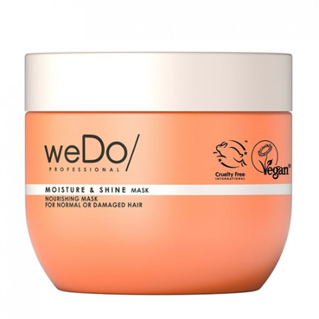WEDO MOISTURE & SHINE MASCARILLA 400 ml - Cabello normal o dañado