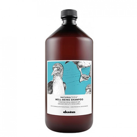 DAVINES NATURAL TECH WELL BEING CHAMPÚ 1000ml todo tipo de cabello