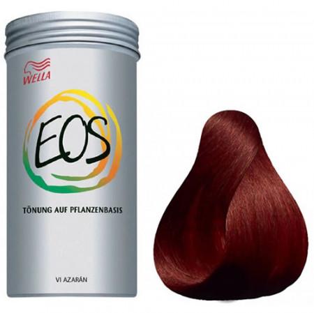 WELLA EOS Nº 6 AZAFRÁN 120 gramos Coloración natural vegetal