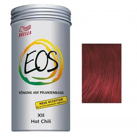 WELLA EOS Nº 12 HOT CHILI 120 gramos Coloración natural vegetal