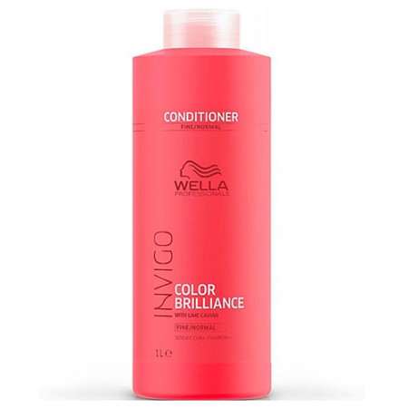 WELLA INVIGO COLOR BRILLIANCE ACONDICIONADOR 1000 ml cabello fino con color