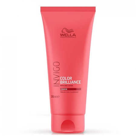 WELLA INVIGO COLOR BRILLIANCE ACONDICIONADOR 200 ml cabello grueso con color