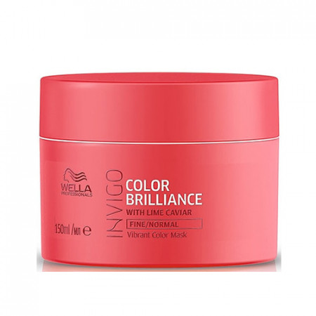 WELLA INVIGO COLOR BRILLIANCE MASCARILLA 150 ml cabello fino con color