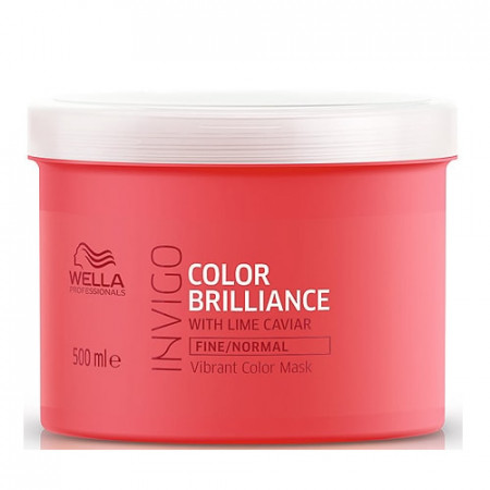 WELLA INVIGO COLOR BRILLIANCE MASCARILLA 500 ml cabello fino con color