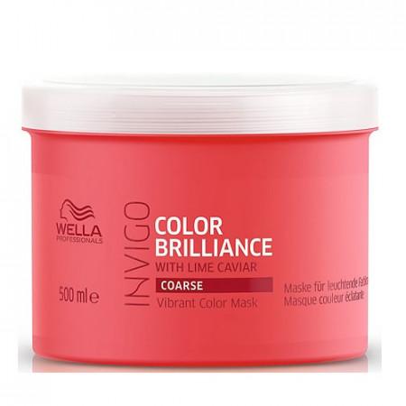 WELLA INVIGO COLOR BRILLIANCE MASCARILLA 500 ml cabello grueso con color