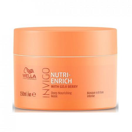 WELLA INVIGO NUTRI ENRICH MASCARILLA 150 ml reparadora cabello seco o dañado