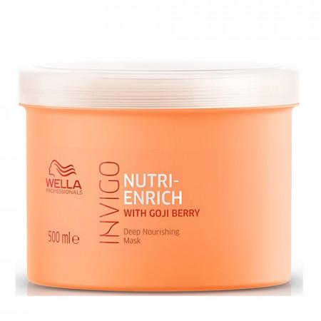 WELLA INVIGO NUTRI ENRICH MASCARILLA 500 ml reparadora cabello seco o dañado