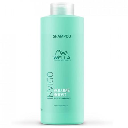WELLA INVIGO VOLUME CHAMPU 1000 ml volumen para el cabello fino