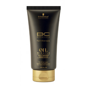 SCHWARZKOPF BC OIL MIRACLE ACONDICIONADOR 150ml brillo dorado