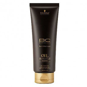 SCHWARZKOPF BC OIL MIRACLE CHAMPU 200ml brillo & suavidad
