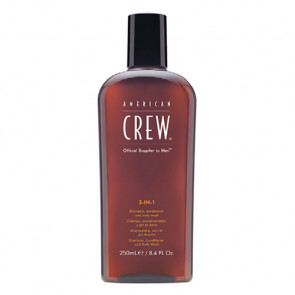 AMERICAN CREW 3-IN-1 TEA TREE CHAMPU 450ml / champu - acondicionador y gel baño