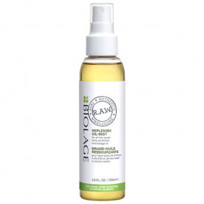 BIOLAGE RAW NOURISH ACEITE REPLENISH OIL MIST 125 ml Todo tipo de cabello
