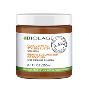 BIOLAGE RAW NOURISH CURL DEFINING STYLING BUTTER 250 ml Crema para definir rizos