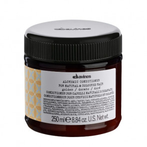 DAVINES ALCHEMIC GOLDEN ACONDICIONADOR 250ml cabello rubio / dorado
