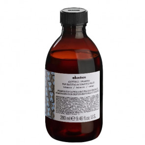 DAVINES ALCHEMIC TOBACCO CHAMPÚ 280ml cabello color marrón claro