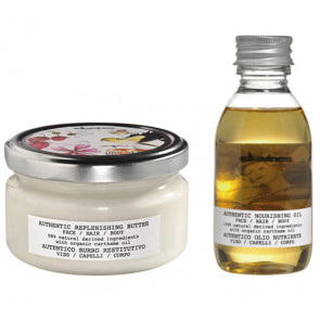 DAVINES AUTHENTIC / 340ml / PACK 25 / crema + aceite