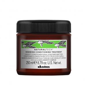 DAVINES NATURAL TECH RENEWING ACONDICIONADOR 250ml /  Longevidad para todo tipo de cabello y cuero cabelludo