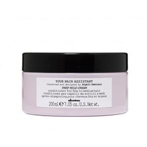 DAVINES YOUR HAIR ASSISTANT PREP MILD CREMA 200 ml (elasticidad e hidratación para cabellos finos y medios)
