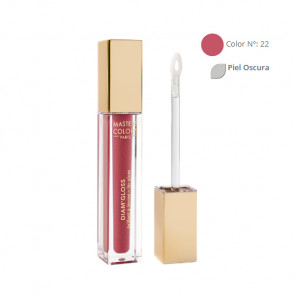 MASTERS COLORS DIAM'GLOSS Color Nº 22 4,5ml - Brillo labios