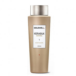 GOLDWELL KERASILK CONTROL SHAPE INTENSE (1) 500ml / tratamiento queratina / transformación intensiva / cabello liso natural y manejable