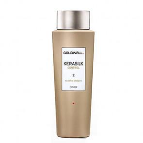 GOLDWELL KERASILK CONTROL SMOOTH INTENSE (2) 500ml / tratamiento queratina / alisado del cabello dañado y/o aspero