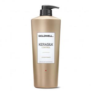 GOLDWELL KERASILK CONTROL ACONDICIONADOR 1000ml / alisa, suaviza y controla el cabello