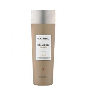 GOLDWELL KERASILK CONTROL CHAMPÚ 250ml / alisa el cabello y limpia suavemente / prolonga el efecto de la keratina