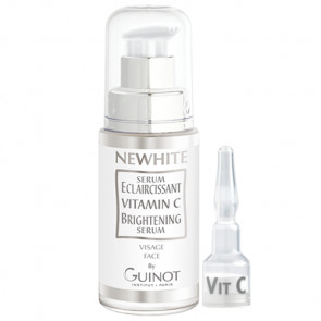 GUINOT NEWHITE SERUM ECLAIRCISSANT 23,5ml+amp1,5gr aclara y unifica el cutis / difumina manchas oscuras