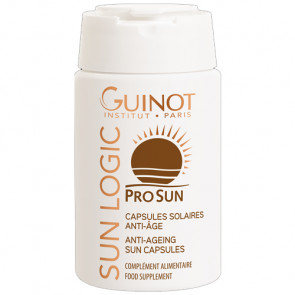 GUINOT CAPSULES SOLAIRES ANTI-AGE 30 cáps Cápsulas solares antiedad - rostro