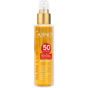 GUINOT HUILE SÈCHE SOLAIRE ANTI-AGE SPF 50 150ml Protección solar muy alta - cuerpo