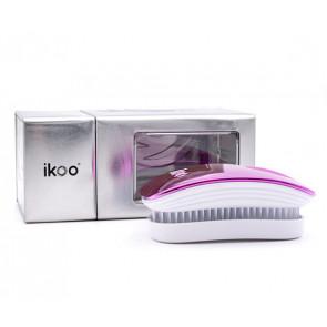 IKOO POCKET CHERRY METALLIC - Cepillo para desenredar el pelo (para viaje)
