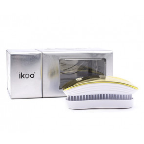 IKOO POCKET SOLEIL METALLIC - Cepillo para desenredar el pelo (para viaje)