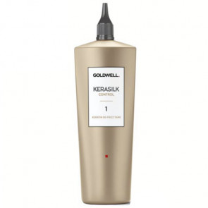 GOLDWELL KERASILK CONTROL (1) DE-FRIZZ TAME 500ml / Queratina + Seda líquida / Cabello liso de 4 a 6 semanas