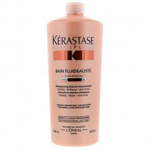 KÉRASTASE DISCIPLINE BAIN FLUIDEALISTE 1000ml champú / sin sulfatos / cabello encrespado