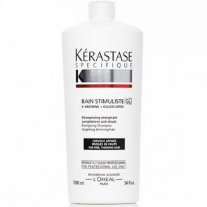 KÉRASTASE SPÉCIFIQUE BAIN STIMULISTE GL 1000ml / champú energizante / caída del cabello adicional
