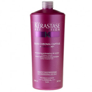 KÉRASTASE RÉFLECTION BAIN CHROMA CAPTIVE 1000ml / champú cabello coloreado