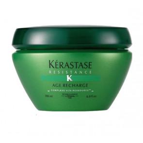 KÉRASTASE RÉSISTANCE AGE RECHARGE MASQUE 200ml / mascarilla / cabello debilitado
