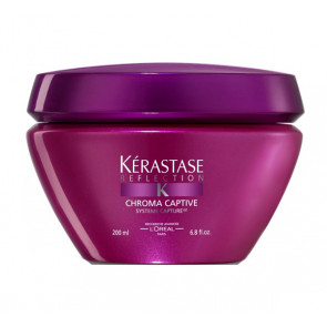 KÉRASTASE RÉFLECTION MASQUE CHROMA CAPTIVE 200ml / mascarilla / brillo / cabello coloreado