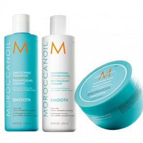 MOROCCANOIL SMOOTH - 750ml - PACK 19 cabello rebelde / encrespado