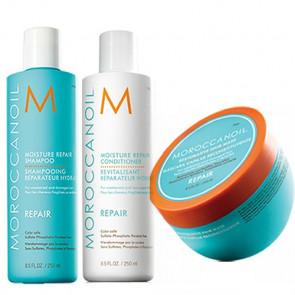 MOROCCANOIL REPAIR 750ml PACK 9 - REPARACION cabello dañado / debilitado