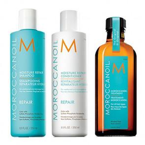 MOROCCANOIL REPAIR 600ml PACK 12 - REPARACION cabello dañado / debilitado / aceite argán